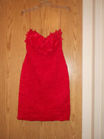 Dress size Large (red)