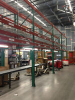 Installation, repair, dismantle of pallet racking