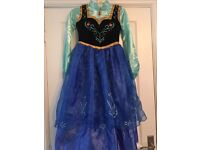 Official Disney frozen Anna dress and cape