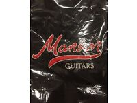 Manson guitars gig bags