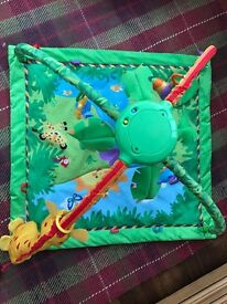 Fisher price jungle play mat