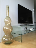 Giant glass decorative vase from Maison Corbeil