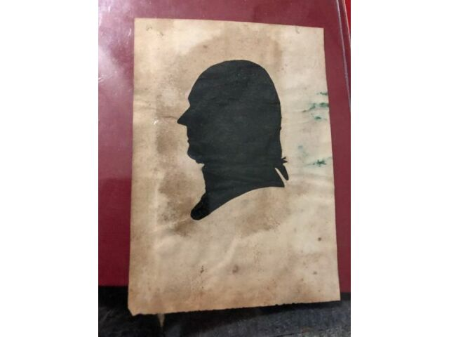 19TH CENTURY HOLLOWCUT PERIOD SILHOUETTE - 1800'S - GREAT DETAILS