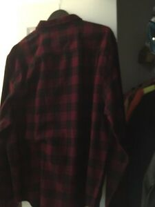 Men s Coleman red and black flannel shirt London Ontario image 1