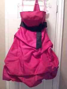 Robe de soirée, bal, demoiselle d'honneur, taille 12