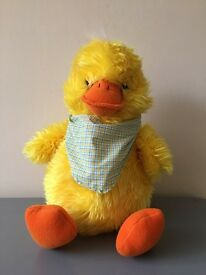 Soft Cuddly Duck toy