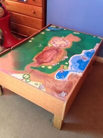 Train / Car Table Good Used Condition