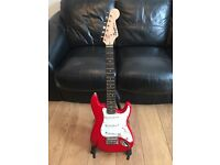 Fender Squier Mini Stratocaster 3/4 Electric Guitar, Rosewood, Torino Red