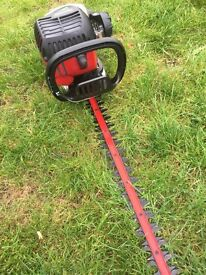 Petrol hedge cutter clipper Homelite mighty lite in good working condition double edged blade &cover