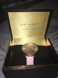 Ted baker leather watch