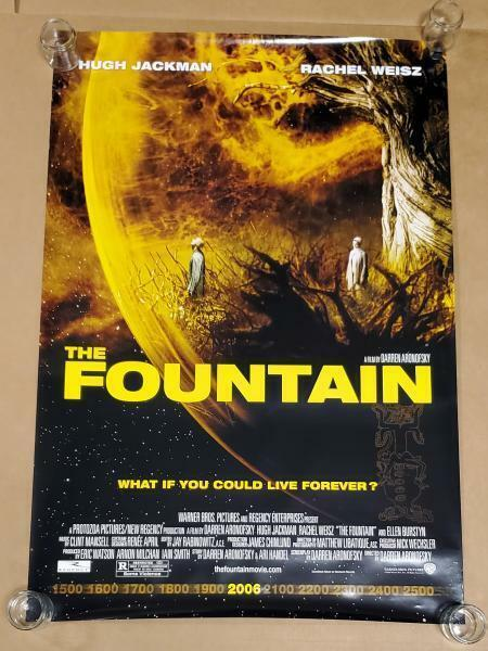 The Fountain 27x40 Double-Sided Movie Poster