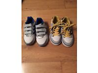 Boys Trainers (Adidas and DG) Size 1