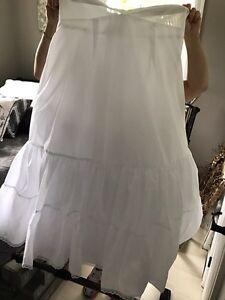 Crinoline- for under prom, wedding dresses