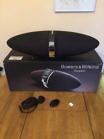 B&W Zeppelin iPod/iPhone speaker