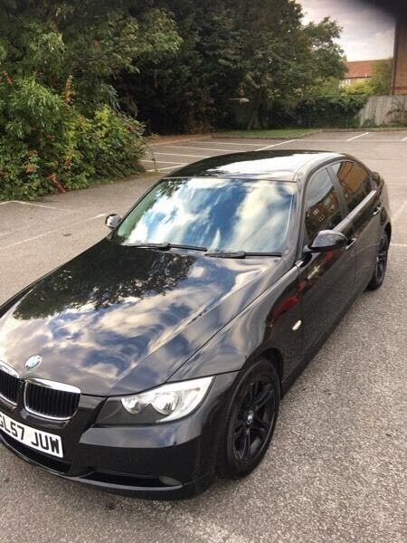 Bmw 3 series-318-diesel-saloon-2008 model-cheaper insurance group-part exchange welcome