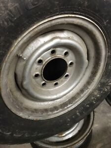"Gmc/chev truck 16"" steel rims Kawartha Lakes Peterborough Area image 2"