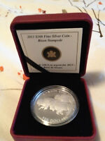 2013 $100 Bison Coin