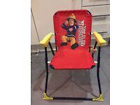 Fireman Sam kids chair