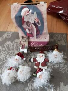 Santa Christmas ornaments