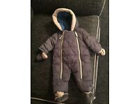 Ted Baker grey snow suit