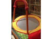 Small children's trampoline.
