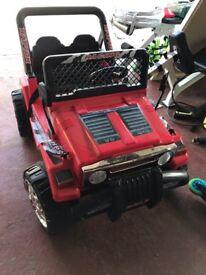 Raptor 12V 2 seater electric kids car