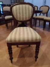 Solid Mahogany Wood Formal Dining Table & Chairs Albert Park Port Phillip Preview
