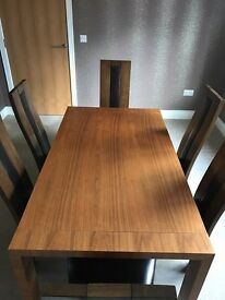 Dwell Extendable Dining Table & 6 Chairs