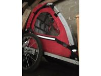 Toddlers trailer for bike