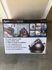 NEW UNOPENED Dyson Big Ball CINETIC canister vacuum