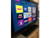 """Samsung 40"""" full HD FREEVIEW TV- excellent condition collection Derby"""