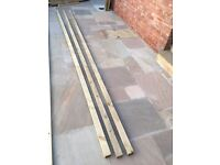 Timber / wood 3x2 inch x 4.8m 3 lengths