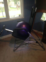 Exercise Combo Deal - Treadmill, Ab Lounger & Exercise Ball