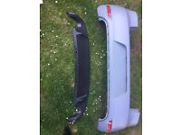 VW Golf MK6 GTI rear bumper and diffuser (not Mk5, Mk7, Audi, seat, alloys, kitted)