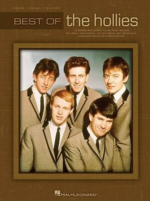 Best of the Hollies Sheet Music Piano Vocal Guitar SongBook NEW 000307106