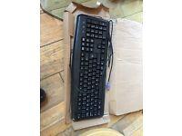 Unused keyboard