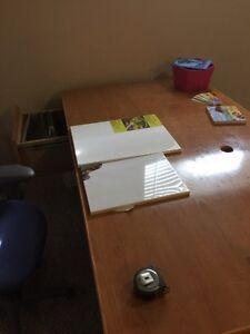 Pupitre - bureau de travail - desk West Island Greater Montréal image 1