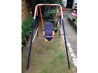Outdoor baby toddler swing