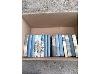 Various vintage books