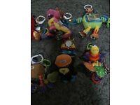 lamaze toys loads for sale £3 each collection gorleston