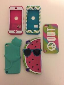 ipod 5 Cases- All for $15