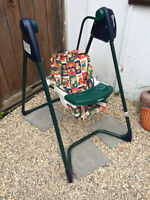Graco Baby swing, different speed settings, works great like new