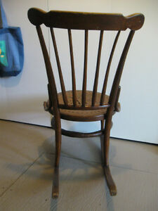 Old, wooden rocking chair Prince George British Columbia image 3