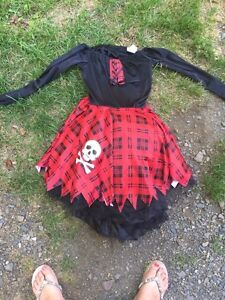 Witch costume size kids size 5-7