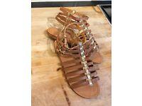Size 4 Gladiator Sandals