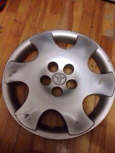 "2 cap de roue  Toyota 15"""