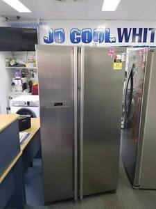 NEAR ON IMMACULATE!! Samsung 600LT Stainless Steel Fridge Freezer Canning Vale Canning Area Preview