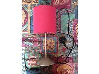 Pink IKEA lamp