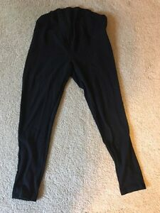 Maternity leggings, small