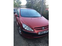 Cheap trade in to clear Peugeot 307 diesel